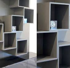 wall shelves besta units paint color blocking by matching the paint color