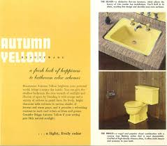 Yellow Bathroom Decorating A Yellow Bathroom Color History And Ideas From Five