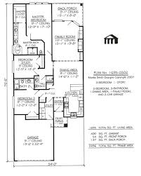 Small 2 Bedroom Homes For Narrow Lot House Plans Building Small Houses For Lots 2 Story