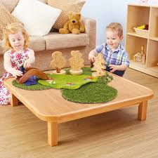 toddler wooden creative low table large tts school resources