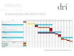 Project Management Excel Templates Free Project Management Gantt Chart Template