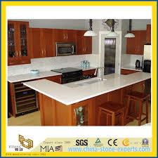 pure white artificial quartz stone countertop for kitchen and bathroom with sgs