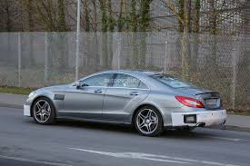 2015 CLS 63 AMG Facelift Caught on Video in Germany - autoevolution