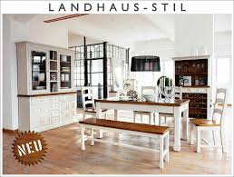 Landhaus Esszimmer Komplett 11 Tlg Weiß Massiv Holz Kiefer