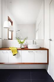 modern white bathroom ideas. Of The Best Small Bathroom Designs Modern White Timber Accent. Fitted Bathroom. Interior Decoration Ideas