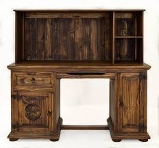 puter desk with hutch dark finish