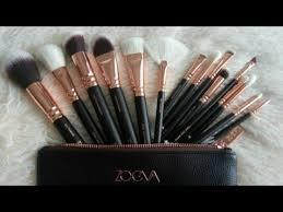 zoeva rose gold 15 piece brush set amazon brushes affordable makeup brushes