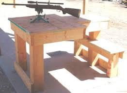 Homemade Portable Shooting Bench Plans Wood Machinery Perth Plans For Portable Shooting Bench