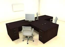 t shaped office desk. 2 Person Office Desk For People Computer Best Choice T Shaped I