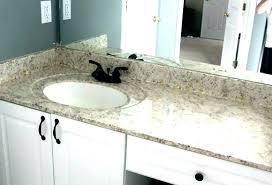 glass bathroom countertops sea for