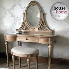 Dressing Table And Dressing Table Stool From The French Bedroom Company