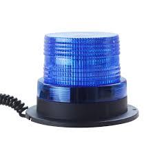 12v Blue Strobe Light Amazon Com Led Blue Strobe Light 12v Emergency Magnetic