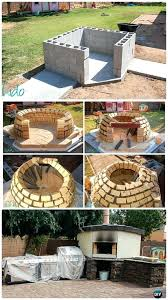 build outdoor pizza oven concrete wood fired pizza oven instructions outdoor pizza oven ideas projects diy