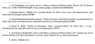 when writing a paper how do you cite as a source the notes that demonstration screenshots