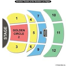 The Venetian Theatre Las Vegas Seating Chart 78 Most Popular Venetian Hotel Theatre Seating Chart