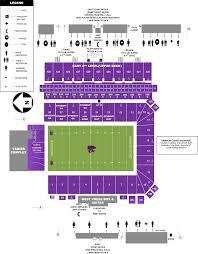 Ksu Football Stadium Seating Chart Bill Snyder Family Stadium Kansas State Football Stadium