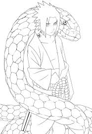 coloring pages lovely line naruto shippuden sheets and sasuke col