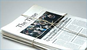 Newspaper Template Illustrator Adobe Cc Newsletter Templates 6 Free Newspaper Template