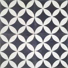 above circulos a cement design by original mission tile is made by hand in mexico the eight by eight inch tiles are available in more than 60 colors