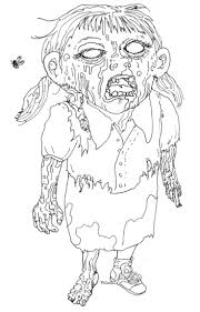 Beautiful But Creepy Coloring Pages For