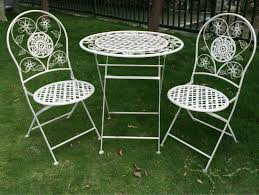 antique metal outdoor furniture. outdoor decorative vintage folding metal wholesale antique gray patio bistro sets furniture