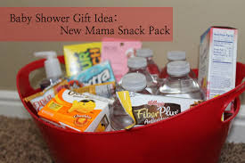 unique design baby shower gifts for mom bright inspiration diy gift new mother snack pack
