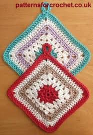 Free Crochet Potholder Patterns Delectable Free Crochet Pattern Cotton Pot Holder USA