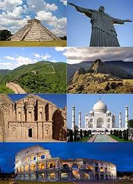 newwonders of the world simple english the  new7wonders of the world