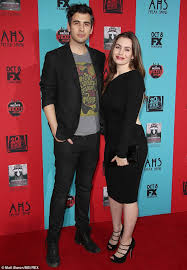gene simmons son tongue. brother and sister: nick is shown with his sister sophie in october los angeles gene simmons son tongue