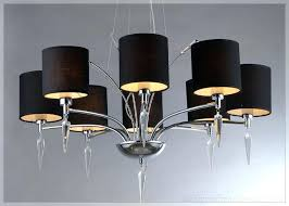 awesome black chandelier lamp little black
