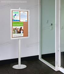 Free Standing Display Board The Public Notice Board is a Free Standing Display for Use in Many 70