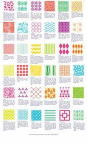 Pattern Names Impressive 48 Best Patterns Design Terms Images On Pinterest Pattern