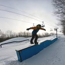 Snowboard Terrain Park Design Parks Arena Snowparks