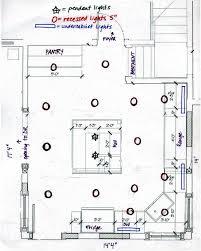 kitchen lighting layout. Recessed Lighting Layout Design Luxury Kitchen Light Placeme