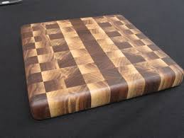 Cutting Board Patterns Simple Walnut Heart And Sap Wood Checker Board Pattern Cutting Board By