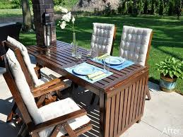 Collection in Drop Leaf Patio Table Ikea Outdoor Furniture Hack