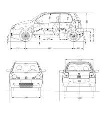 Kleurplaat Golf Gti Volkswagen Golf 4 Vektor Abbildung Bild Von
