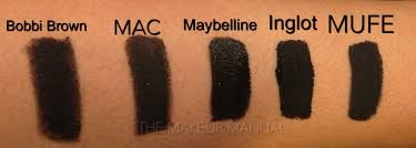 you will realize that both mac bobbi brown are not the darkest other than being dry you will realize that mayeblline inglot and makeupforever are
