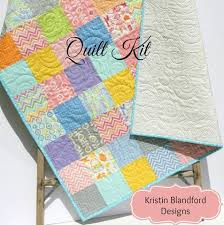 Baby Quilt Kits | Kristin Blandford Designs & Baby Quilt Kit Precut Charm Pack Quilt Kit Quilting Sewing Project, Baby  Blanket, Moda Adamdwight.com