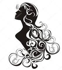 Astrologie Znamení Panna Tetování Krásy Dívka S Vlnitými Vlasy
