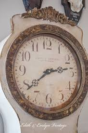 Swedish Clock Reproduction A Swedish Mora Clocksort Of Edith Evelyn Vintage