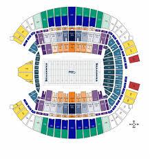 Centurylink Field Seating Chart Seahawks Centurylink Seat Map Elegant Centurylink Field Seating
