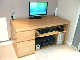 computer desk for home corner desks ikea image of amazing hutch two person office