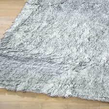 faux fur carpet zoom rug ikea canada pure white large