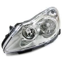 Opel Vauxhall Corsa D 06 11 Lhd Headlight Left