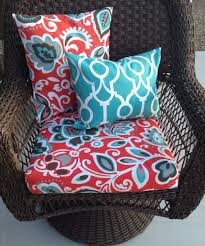seat covers for outdoor furniture contemporary replacement cushion pillow within 13