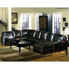 light brown faux leather sectional couch reclining sofa contemporary 4 piece furniture