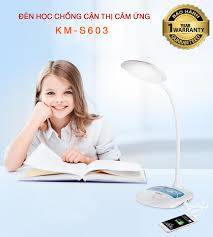 Bảng giá Đèn học chống cận thị, Đèn bàn học điện quang, Den led chieu sang  - Đèn để bàn, đèn cảm ứng ánh sáng chống cận 3 chế độ