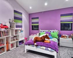 Wonderful Inspiration For A Contemporary Girl Carpeted And Gray Floor Kidsu0027 Bedroom  Remodel In Orange County