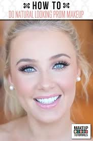 this prom makeup tutorial gives you a pretty natural look get glowing skin and use a pretty pink lipstick shade to give you a natural makeup look for prom